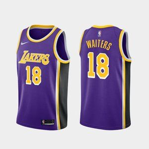 Los Angeles Lakers Dion Waiters Purple Jersey